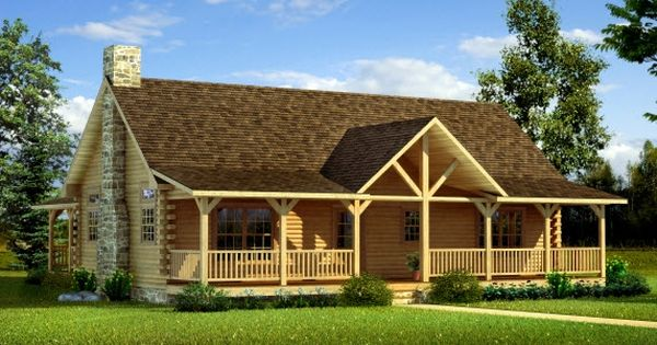 Gable Front Porches Designs Uinta Log Home Builders