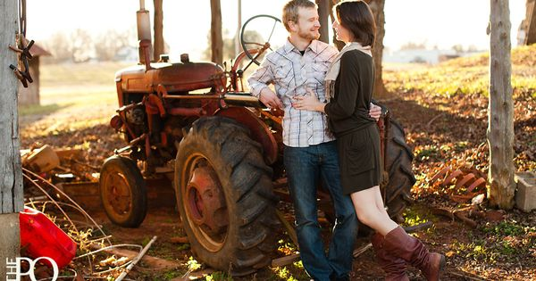 Couple On Tractor : Tractor couples photography pinterest tractors