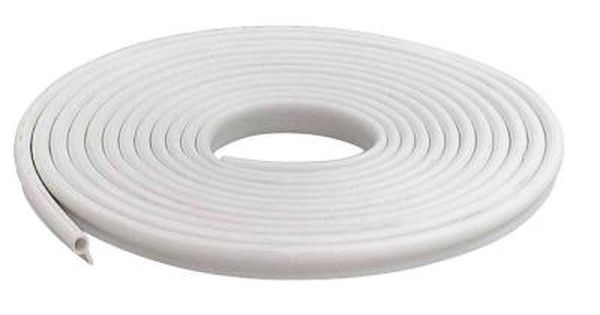 M D Building Products 1 2 In X 17 Ft White Vinyl Gasket Weatherstrip 78394 White Vinyl Window Vinyl M D Building Products