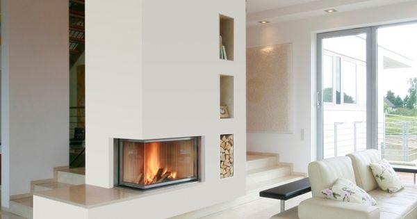 conseils de pro pour installer une chemin e au coin du. Black Bedroom Furniture Sets. Home Design Ideas
