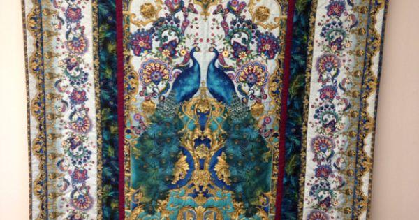 Peacock Quilt Kit Timeless Treasures Hyde Park On Etsy