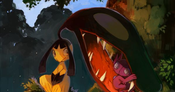 Mawile And Sableye By Bluekomadori Deviantart Com On