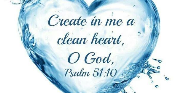 Give Me a Clean Heart: Psalm 51 Sunday School Lesson
