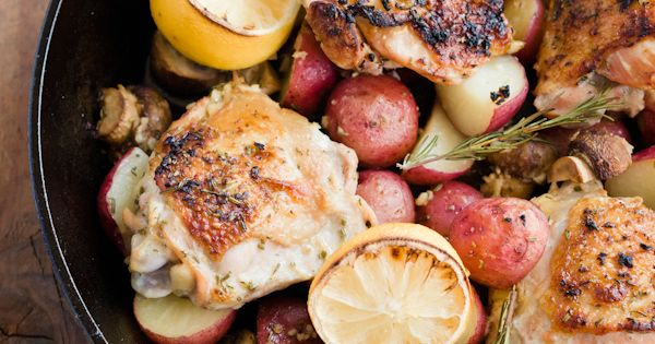 Rosemary chicken - like the look of this!! Been looking for a
