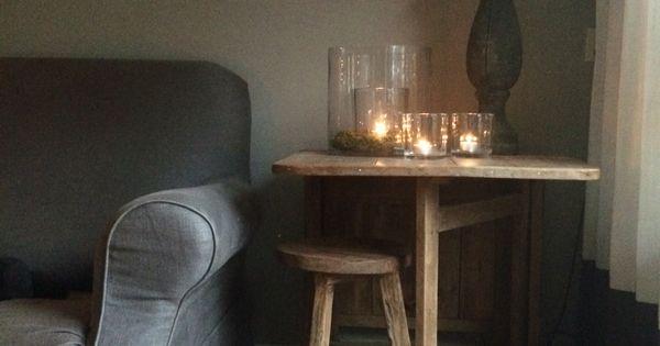 Sober stoer home inspiratie pinterest landelijk wonen natuurlijke materialen en decoratie - Decoratie volwassen kamer zen ...