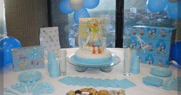 Baby shower ideas para nino beb s pinterest baby - Decoracion para baby shower nino ...