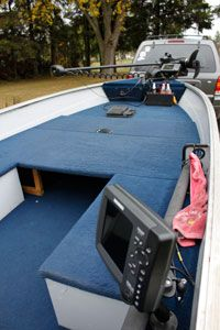 How To Install Carpet On A Boat Deck In 8 Easy Steps Boat Interior Aluminum Fishing Boats Aluminum Boat