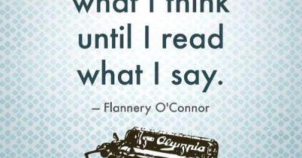 flannery o conner essay The path of salvation in flannery o'connor's a good man is hard to find if you  were blind, you should have no sin: but now you say, we see therefore your.