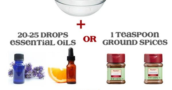 Make your own Natural Carpet Deodorizing Powder. 3 simple ingredients. I used