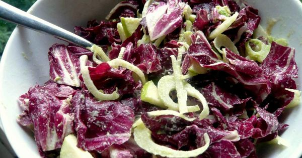 ... And Fennel Salad With Endive And Radicchio Recipe — Dishmaps