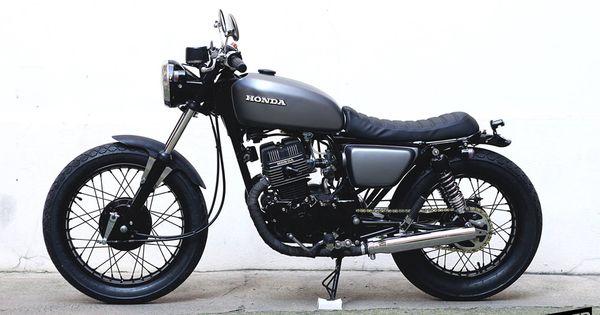Sitio de la motocicleta Honda vintage