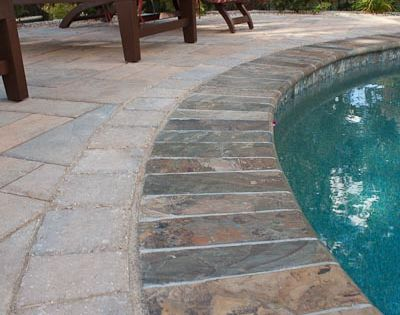 Bullnose Coping For Inground Pools Stone Bullnose Coping
