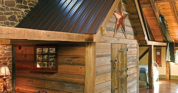 Converting a stone barn into a house sleeping loft for Turning a metal building into a home