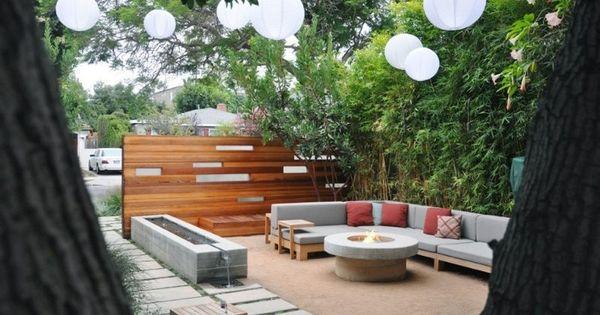 holzm bel kies boden und beton feuerschale f r den. Black Bedroom Furniture Sets. Home Design Ideas