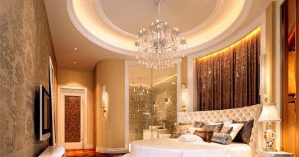Big round bed Bedroom Pinterest