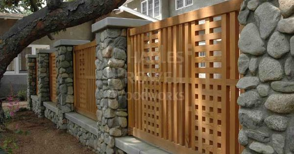 Craftsman-style Fence By Charles Prowell Woodworks