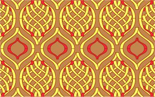 A Sample Ogee Pattern Design Pattern Art Ogee Pattern Pattern