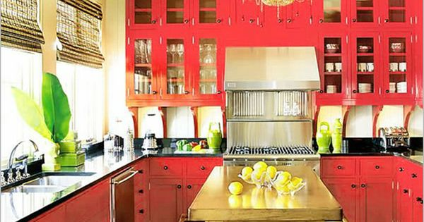 bright pink kitchen accessories colorful kitchen decorating ideas colorful kitchen 4916