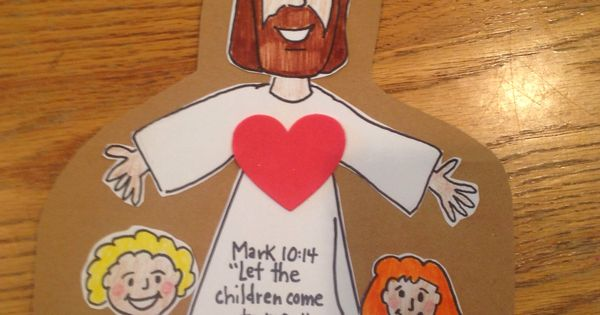 Jesus Loves the Little Children Bible Craft by Let Bible