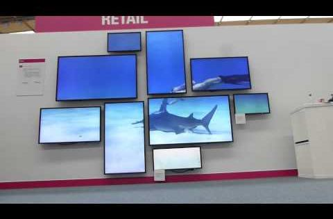 Creative 4K Video Wall | Datapath, ONELAN   NEC Showcase 2014   YouTube More