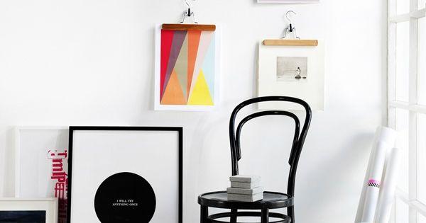 comment accrocher ses photos sans les encadrer hello. Black Bedroom Furniture Sets. Home Design Ideas