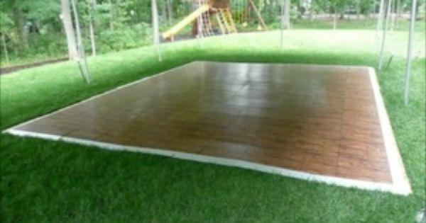 Temporary flooring ideas for portable gazebos now is the - Temporary flooring for renters ...
