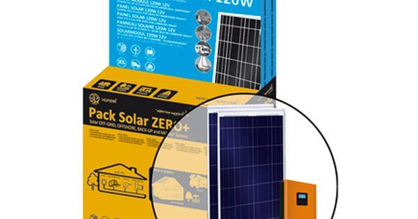 Kit Solar 2 Paneles 120w Bateria 2830wh Inversor Cargador 1kw Hasta 1080wh D Leroy Merlin Kit Solar Iluminacion Solar Sistema Solar