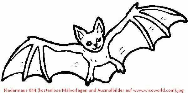 Xobbu Fledermaus Xobbu Malvorlage Halloween 14