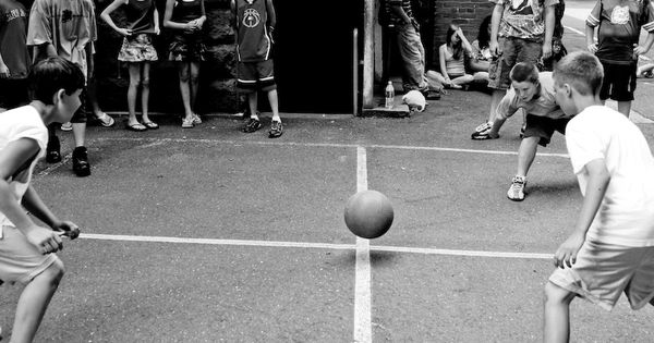 Foursquare ball game   My Style   Pinterest   Squares, Childhood ...