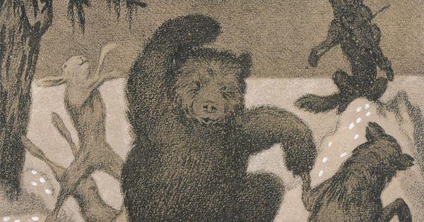houseofromanov: Theodor Severin Kittelsen, Dans i maaneglans, 1901.