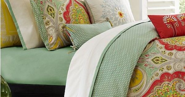 Echo Bedding, Jaipur Comforter Sets Love these colors together