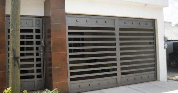 Puertas de garaje puertas de garaje pinterest for Puertas de garaje modernas