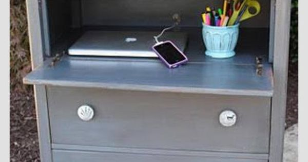 Remove Drawer From Old Dresser And Turn It Into A Fold