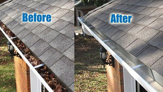 If You You See Leaves And Sticks Coming Out Of The Gutter Give Us A Call At 8327133545 To Get Your Gutters Cleaned By I Cleaning Business