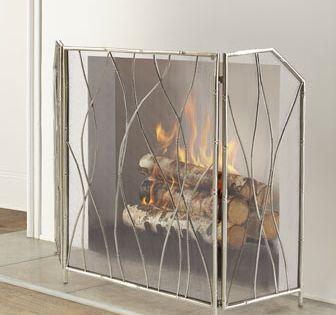 Mino Fireplace Screen Fireplace Screens Wooden Fireplace Decorative Fireplace Screens