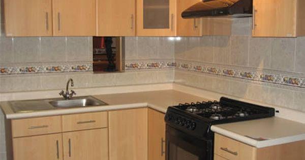 Fabricado por c&g arte y decoración: cocina integral: con meson en ...