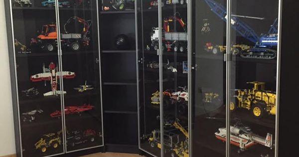 lego cabinets ikea billy lego pinterest lego aufbewahrung lego und lego ideen. Black Bedroom Furniture Sets. Home Design Ideas