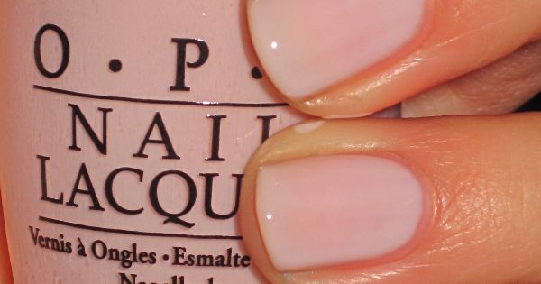 favorite OPI nail polish color ever!!!! Bubble Bath nailart nailpolish