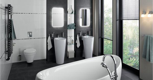 weniger ist mehr reduzierte badfliesen neutrale farben. Black Bedroom Furniture Sets. Home Design Ideas