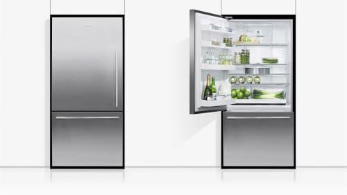 Fisher Paykel Active Smart Rf170wdlx5n Bottom Freezer Door Storage Bottom Freezer Refrigerator