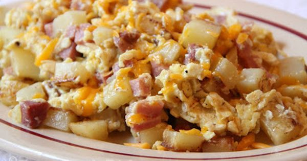 Country Skillet Breakfast. Often called Farmers Breakfast ...