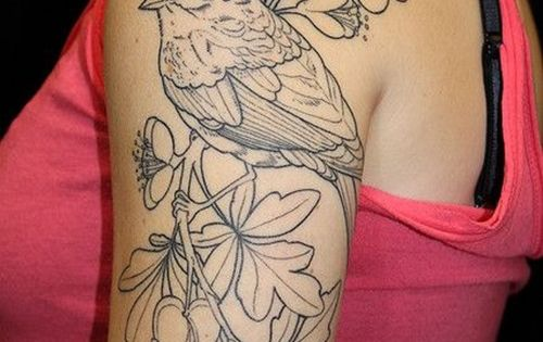 If I was going to get my robin done large it would