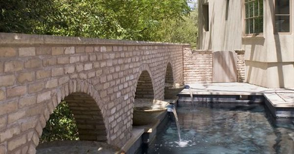 Fountains in swimming pool tips on how to convert luxury for Swimming pool conversion ideas