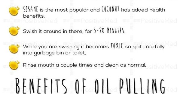 the real benefits of oil pulling