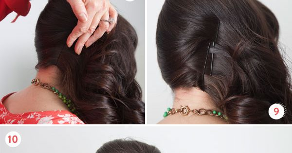 Add retro flair to your hair! diy beauty