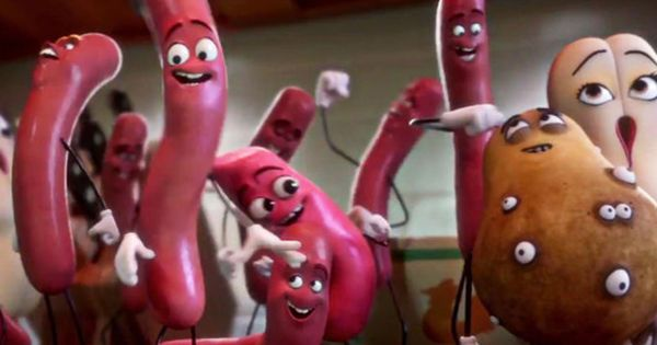 Sausage Party And Bad Moms Are Having A Big Time At The Box Office Sausage Party Sausage Party Movie Animated Movies For Kids