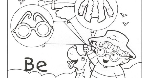sunsmart coloring pages - photo#18