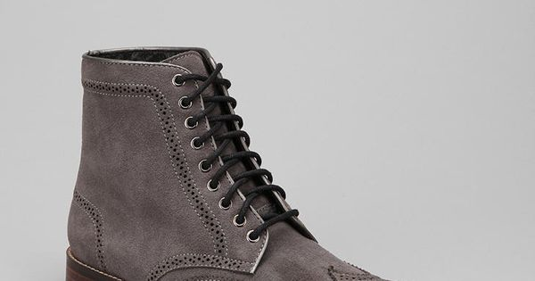 Bed Stu Lug Sole Wingtip Boot Beautiful.