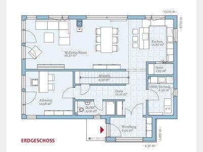 grundriss eg traumh user pinterest dresden und haus. Black Bedroom Furniture Sets. Home Design Ideas