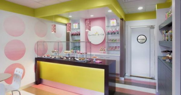 The Sweeterie Cookie Store Chic Design With Images Cake Shop
